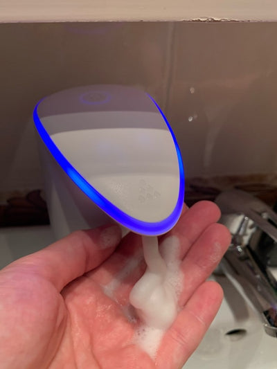 450ml Touchless Automatic Soap Dispenser LED Infrared Motion Sensor Foaming Washing Hands