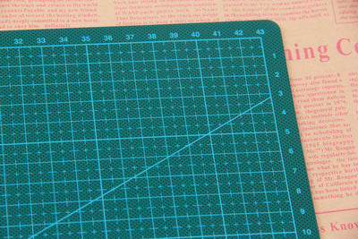 A3 A4  PVC Cutting Mat Pad Double-sided Self-healing