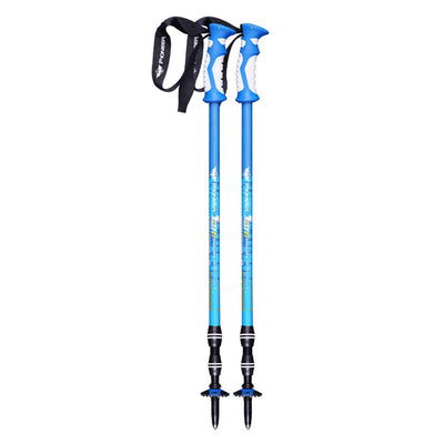 2pcs/lot Trekking Poles - Aluminum Ultralight Walking Stick For Hiking