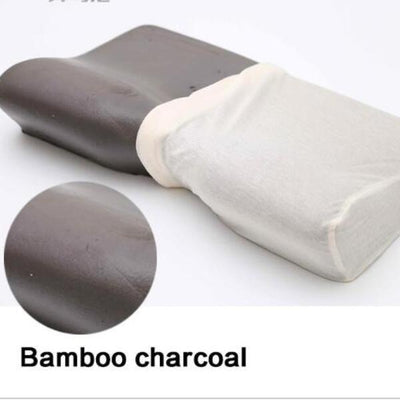 Orthopedic Neck Pillow - Bamboo Charcoal Ventilation Fabric Memory Foam
