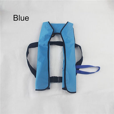 New 5 Sec Automatic Inflatable Life Jacket - Adult Co2 Life Vest