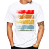 Multi-color Design Men Graphic T-Shirts Short Sleeve Casual T-Shirt