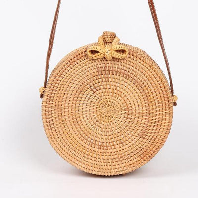 Round Straw Bags - New Chic Crossbody Bag