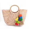 New Handmade Straw Beach Bag
