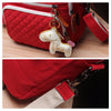 Cute Baby Diaper Bag Multifunction Nappy Bag for Mom with Horse Ornaments