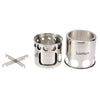 Portable Wood Stove - Mini Stainless Steel Outdoor Camping Wood Stove
