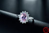 2.0Ct Real Solid 925 Sterling Silver Ring 5A Zircon   Silver Rings