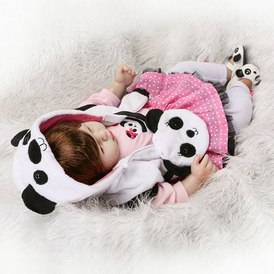 New Silicone Reborn Baby Dolls - 50 CM Lifelike Baby Girl Dolls