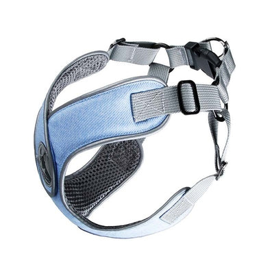 Reflective Small Dog Harness And Leash Set - Soft Breathable Mesh Dog Harness
