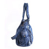 Women Denim Handbags Weave Design Shoulder Bags