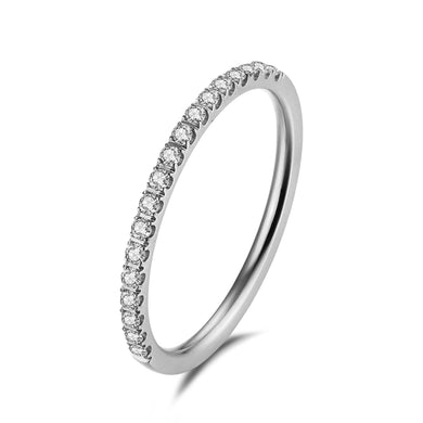 Side ring Silver/White