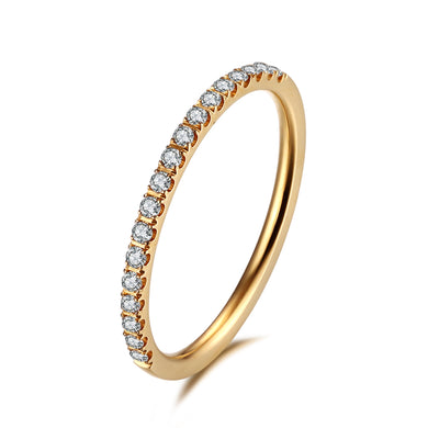 Side ring Gold/White