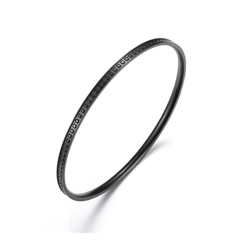 Bangle thin Black/Black