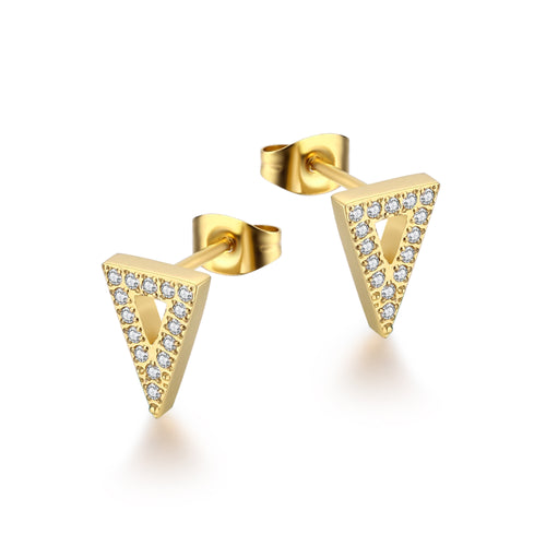 Triangle Gold/White