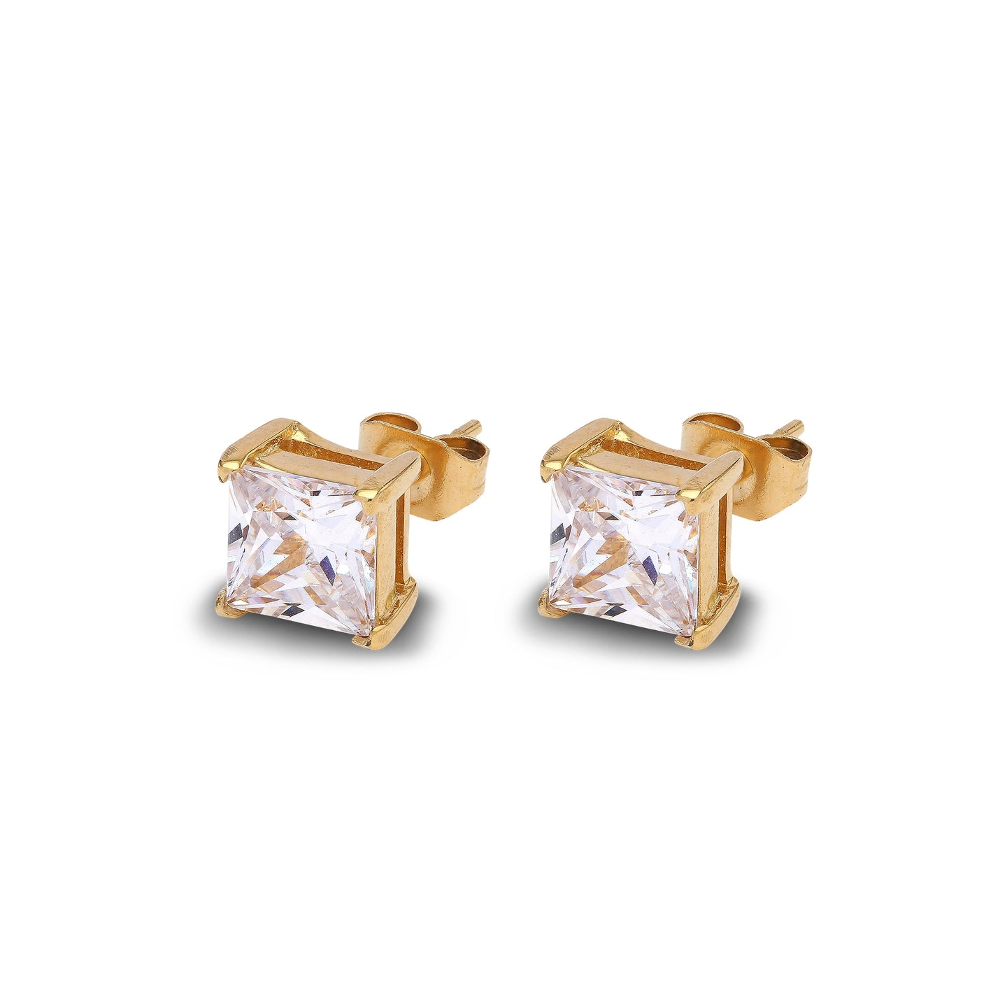 Solitaire Princess Gold/White