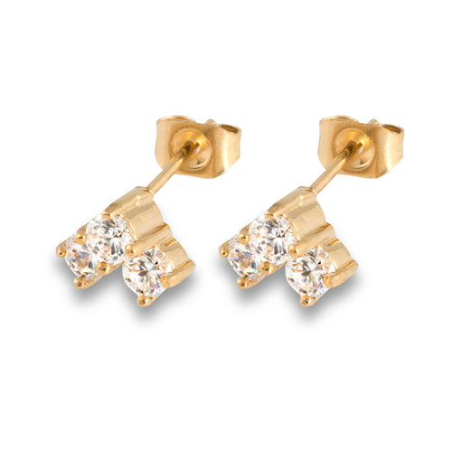 Solitaire 3 Princess gold/white