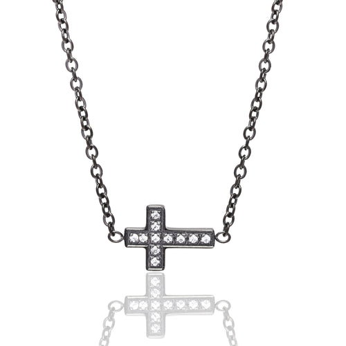 Small cross Black/White
