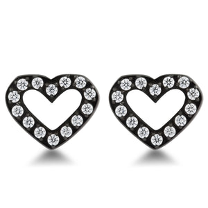 Love Heart Black/White