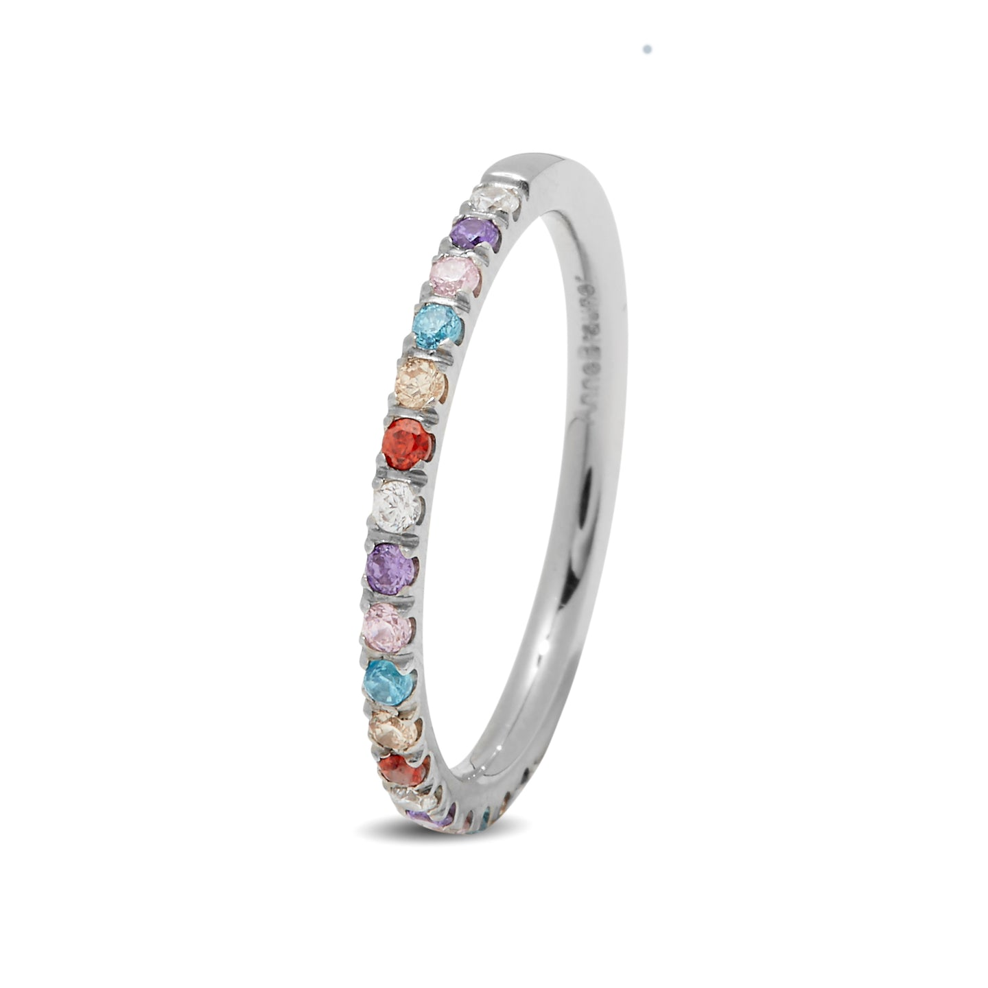 Side Ring Silver/Multicolor