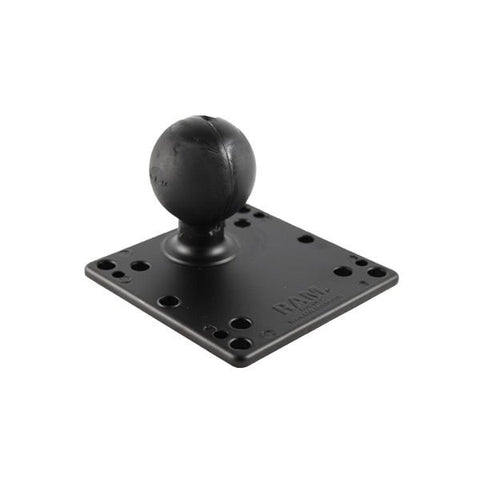 "RAM 4.75"" Square Vesa Plate with D Size Ball (RAM-D-246U) - Image1"