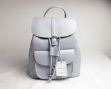 WOMEN'S DRAWSTRING LEATHER BACKPACK - Cerenit