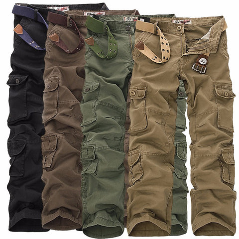 RUGGED TACTICAL CARGO TROUSERS - Cerenit
