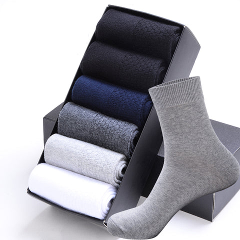 MEN'S COTTON BUSINESS SOCKS - Cerenit