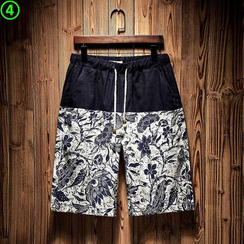 LUXURY SPRING TIDES X BEACH SHORTS - Cerenit