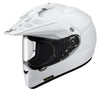 Shoei Hornet ADV Motorcycle Adventure Touring Bike Racing Helmet Plain White