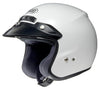 SHOEI RJ MOTORBIKE SCOOTER MOPED OPEN FACE MOTORCYCLE HELMET NEW STYLE WHITE
