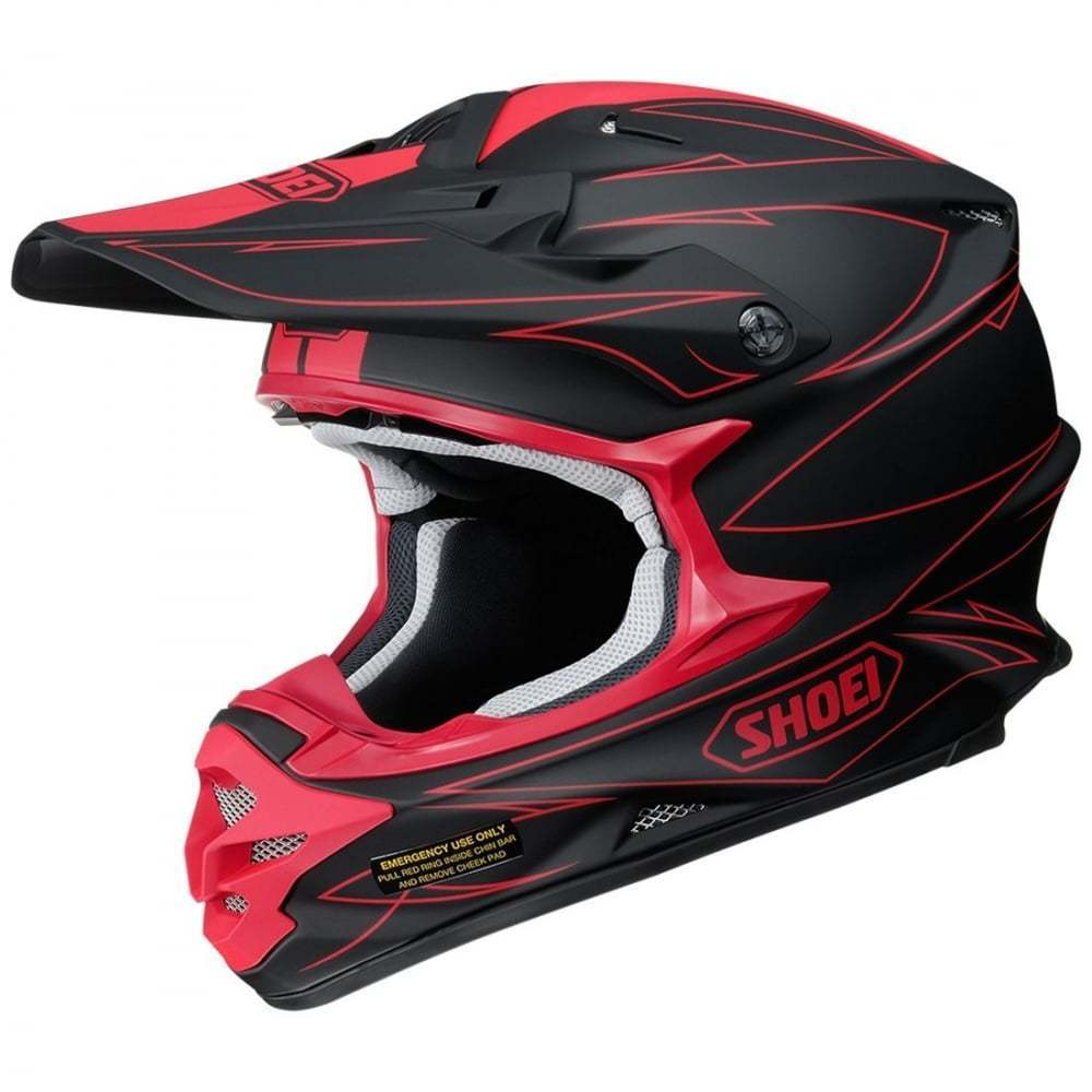 Shoei VFX-W Hectic TC1 Red