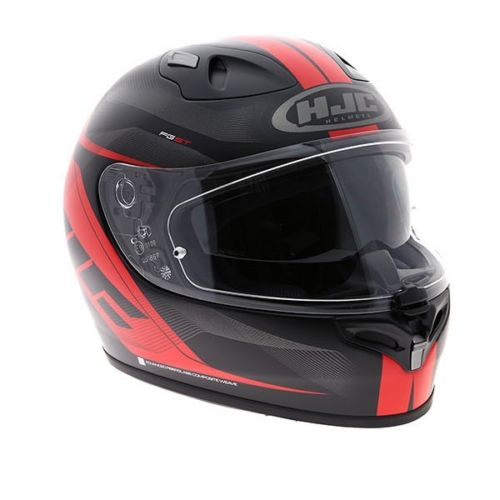 Motorcycle Crash Helmet HJC FG-ST Crono Red Adult Bike Sports Full Face Helmet With Integrated Visor