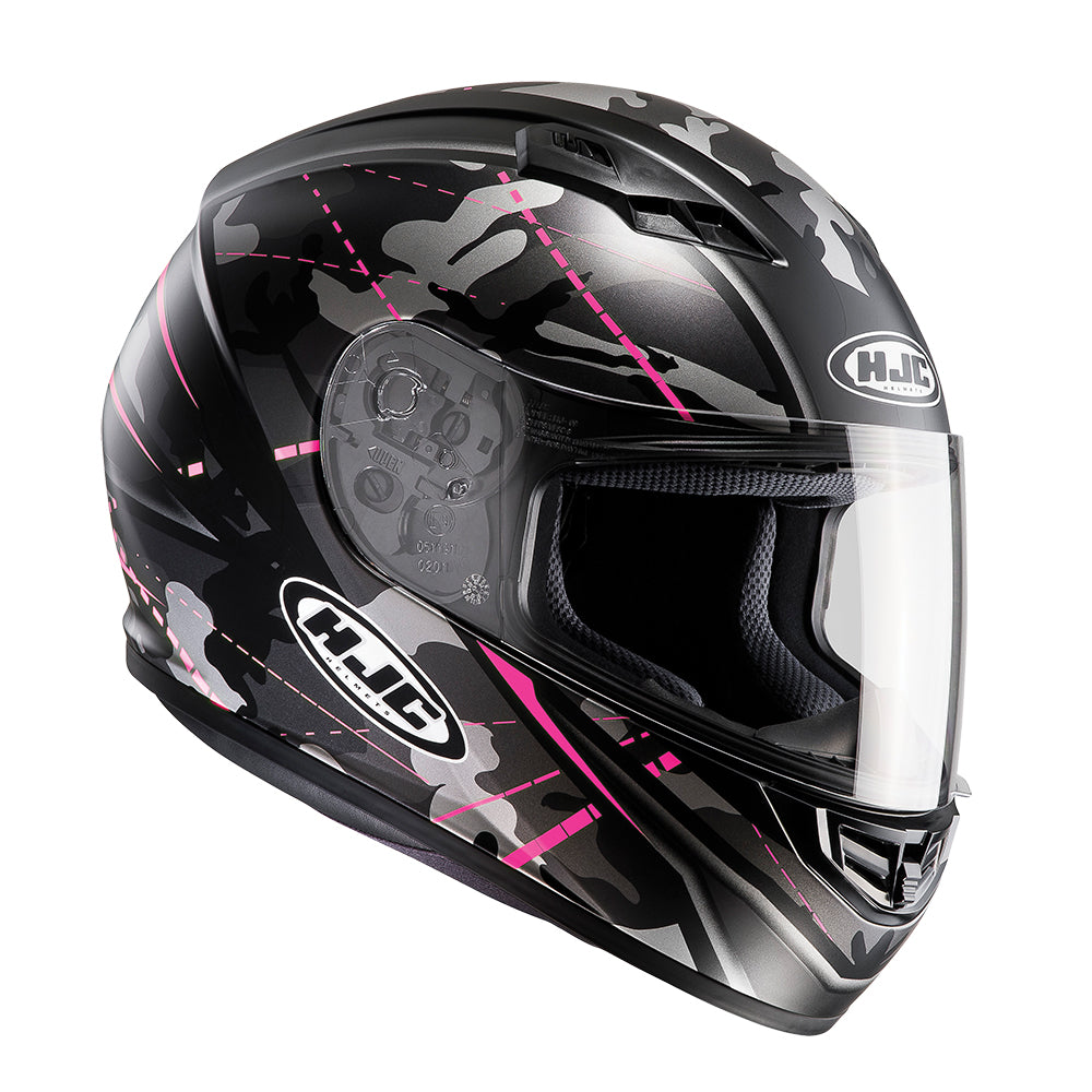 Motorbike Motorcycle CS-15 Songtan Pink Adult Sports Biker Safety Full Face Crash Helmet
