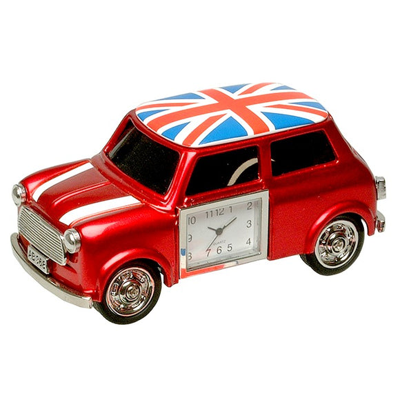 Austin Mini Trendy Small Red Car Clock 0445