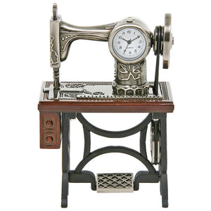 Old Singer Sewing Machine Techno Clock 0460