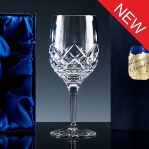 2732.53S: Inverness Crystal - Premier - Fully Cut - 24% Lead Crystal - 10oz Wine Glass, Satin Box