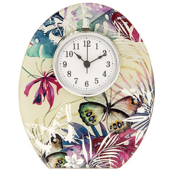 Tropical Butterfly Clock 275135
