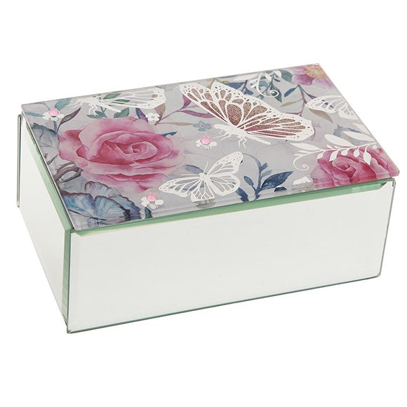 Butterfly Rose Box Oblong 281012