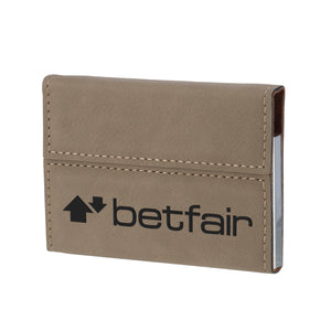 Business Card Holder with Magnetic Clasp