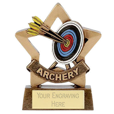 Mini Stars Archery Award 8cm (3 1/4