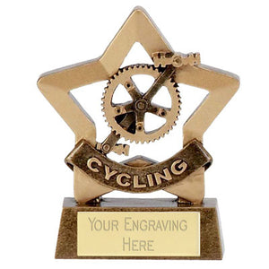 "Mini Stars Cycling Award 8cm (3 1/4"")"