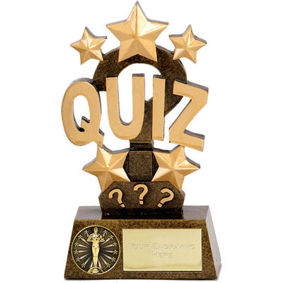 Resin Pinnacle Quiz Trophy 15cm (6