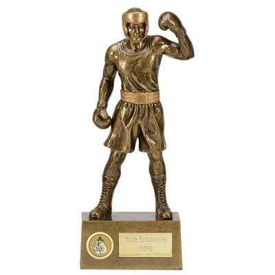 Knockout Boxing Trophy  rjsmith-son.co.uk