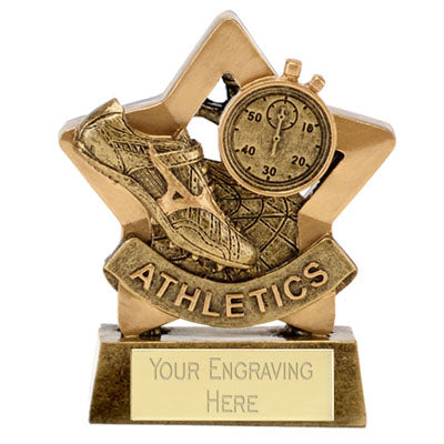 Mini Star Athletics Award 8cm (3 1/4