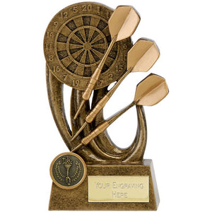 Epic Gold Darts Trophy A1701 http://rjsmith-son.co.uk