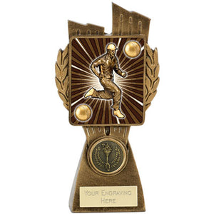 Lynx Gold Shard Cricket Fielding Trophy
