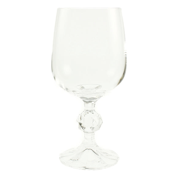 CRY100 CLAUDIA WINE GLASS 230GM