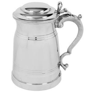 1 Pint Pewter London Lidded Tankard EP035