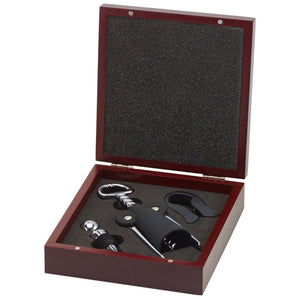 Rosewood 3Piece Wine Tool Set GS009