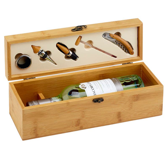 Bamboo Single Wine Box Set GS011